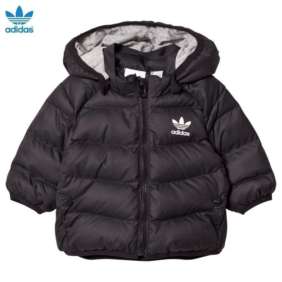 Adidas Originals Black Infant Midseason Jacket Tuulitakki