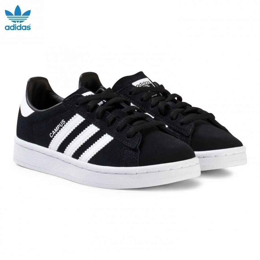Adidas Originals Black Junior Kids Trainers Lenkkarit