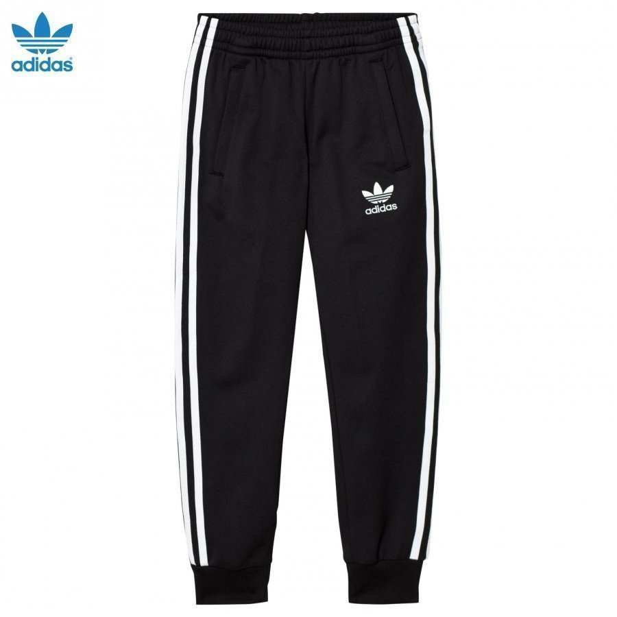 Adidas Originals Black Junior Track Pants Verryttelyhousut