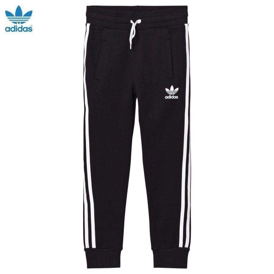 Adidas Originals Black Logo Sweatpants Verryttelyhousut
