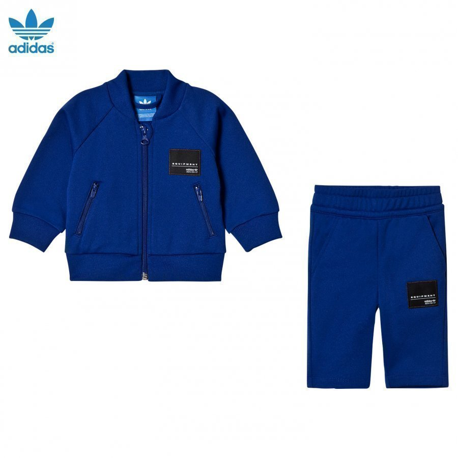 Adidas Originals Blue Infants Equipment Sweatshirt Set Asusetti