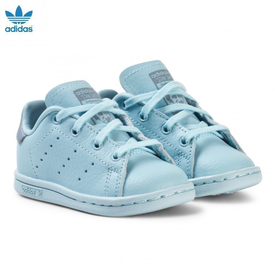 Adidas Originals Blue Infants Stan Smith Trainers Lenkkarit