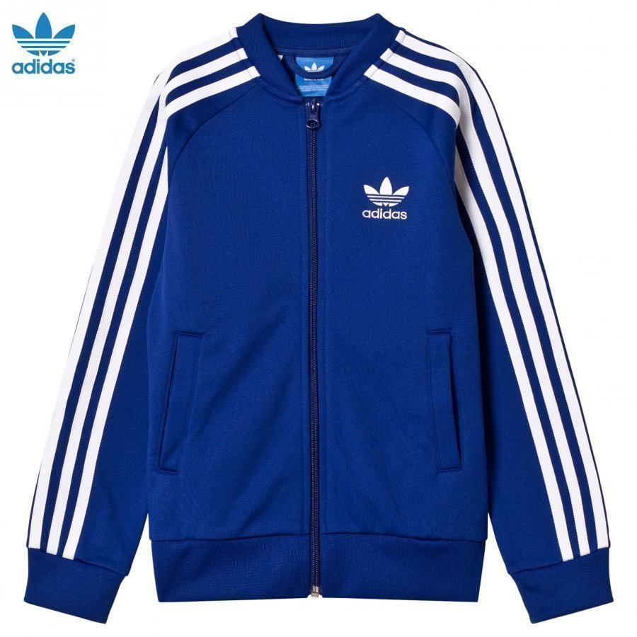 Adidas Originals Blue Junior Track Top Verryttelytakki