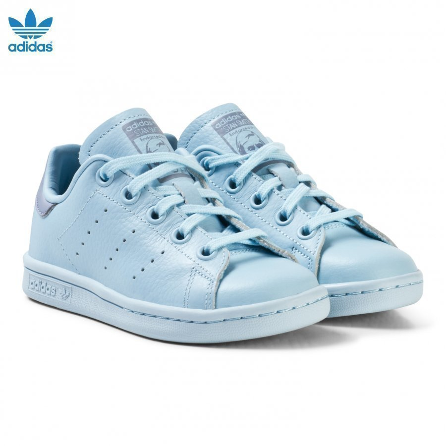 Adidas Originals Blue Kids Stan Smith Trainers Lenkkarit