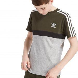 Adidas Originals California Colourblock T-Paita Cargo / Grey