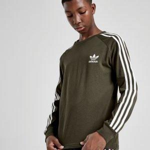 Adidas Originals California Long Sleeve T-Paita Vihreä