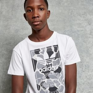 Adidas Originals Camo Box T-Paita Valkoinen