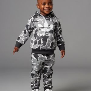Adidas Originals Camo Fade Overhead Suit Infant Harmaa