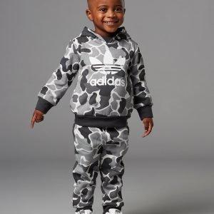 Adidas Originals Camo Fade Overhead Suit Infant Harmaa