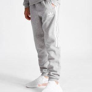 Adidas Originals Euro 3-Stripes Housut Harmaa