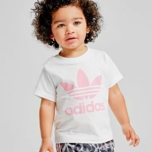 Adidas Originals Girls' Trefoil T-Shirt Infant Valkoinen