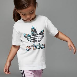 Adidas Originals Girls' Zoo Infill T-Shirt Infant Valkoinen
