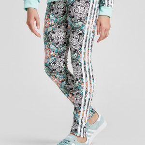 Adidas Originals Girls' Zoo Leggings Monivärinen