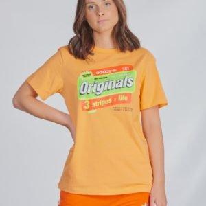 Adidas Originals Graphic Tee T-Paita Oranssi