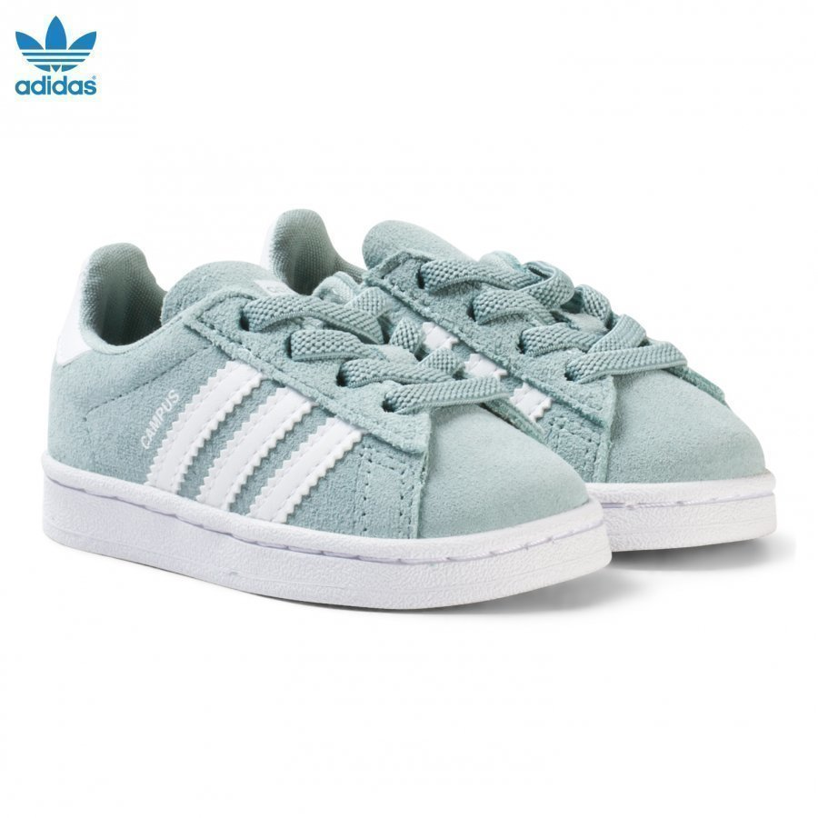 Adidas Originals Green Infants Campus Trainers Lenkkarit