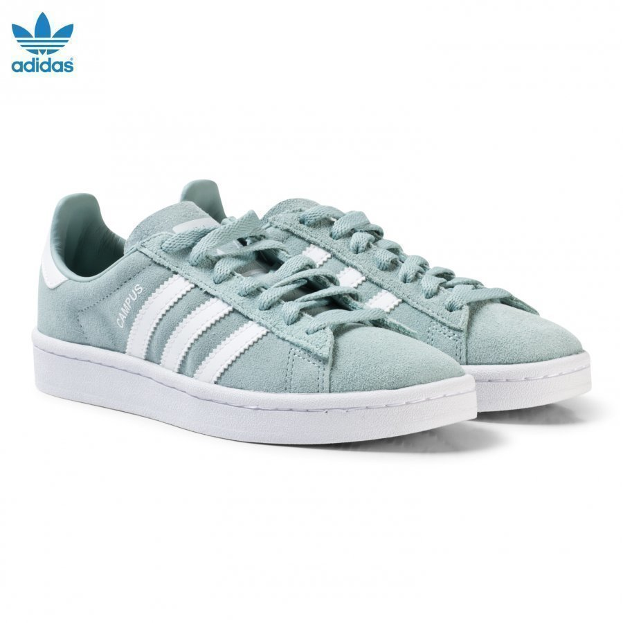 Adidas Originals Green Junior Campus Trainers Lenkkarit