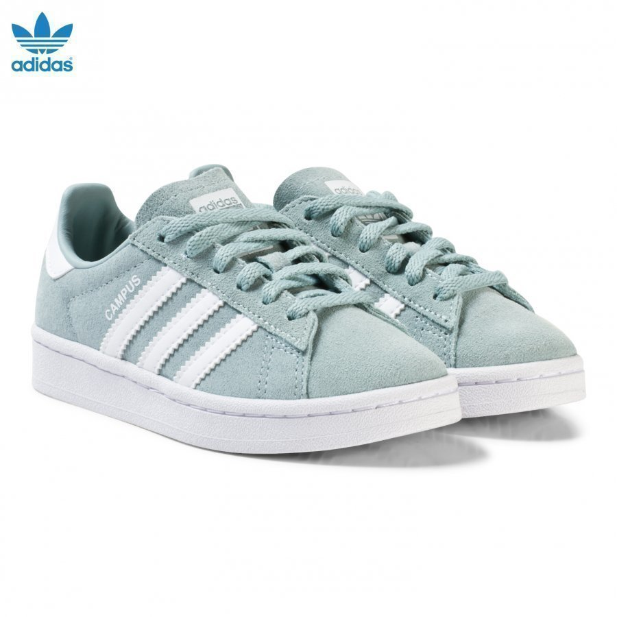 Adidas Originals Green Kids Campus Trainers Lenkkarit