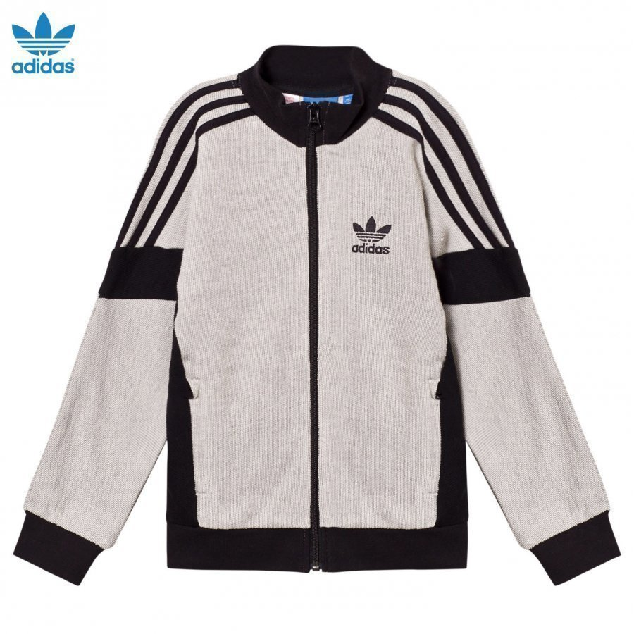 Adidas Originals Grey Branded Top T-Paita