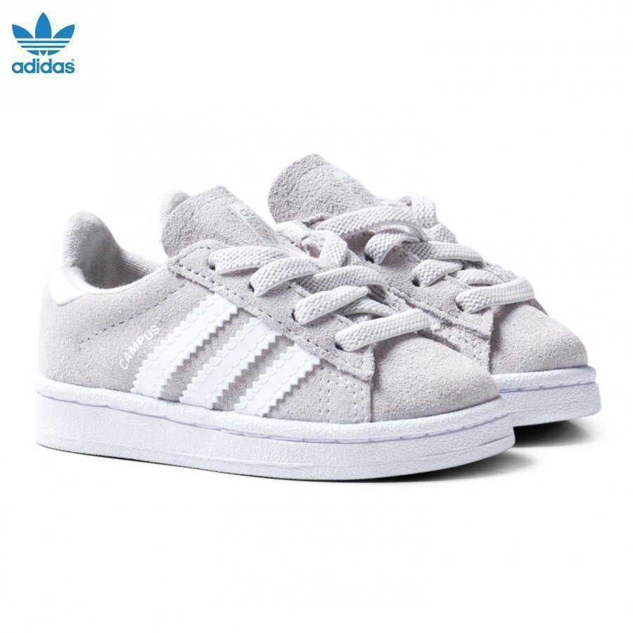 Adidas Originals Grey Infants Campus Sneakers Lenkkarit