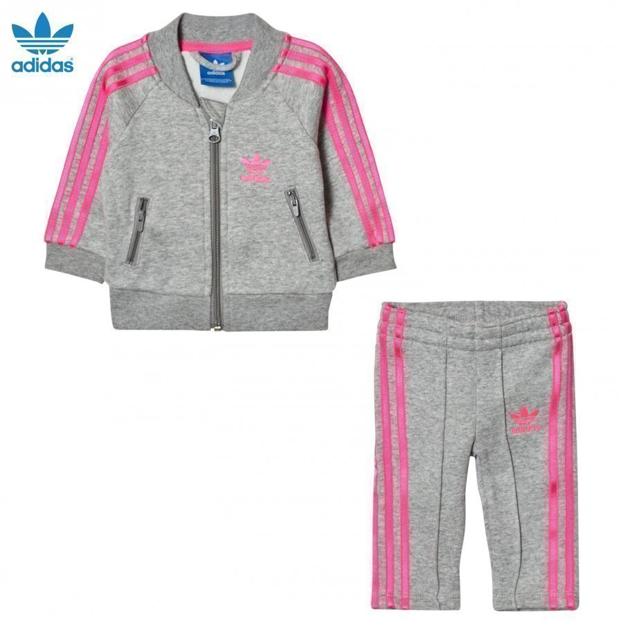 Adidas Originals Grey Infants Track Verryttelyasu