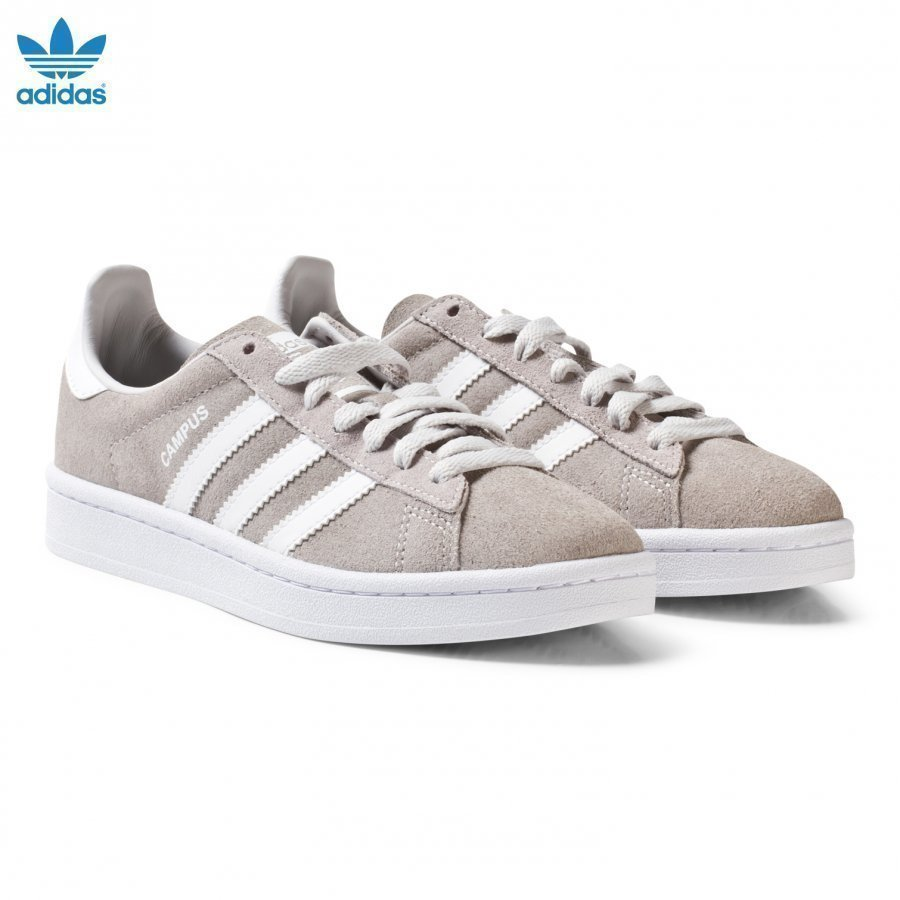 Adidas Originals Grey Junior Campus Trainers Lenkkarit