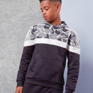 Adidas Originals Itasca Camo Overhead Hoodie Musta