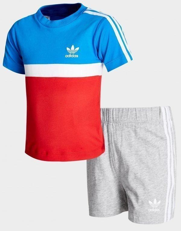 Adidas Originals Itasca T-Paita  /  Shortsit Sininen