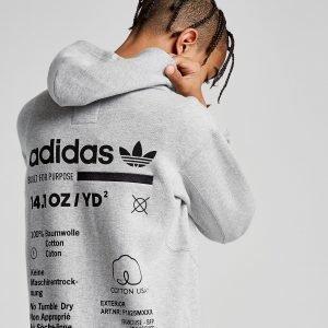 Adidas Originals Kaval Full Zip Hoodie Harmaa