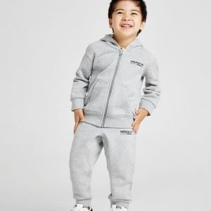 Adidas Originals Kaval Full Zip Tracksuit Infant Harmaa