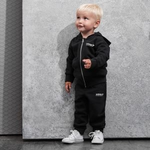 Adidas Originals Kaval Full Zip Tracksuit Infant Musta