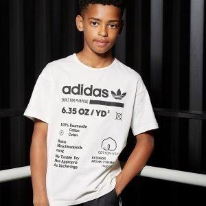 Adidas Originals Kaval T-Shirt Valkoinen