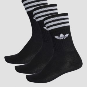 Adidas Originals Mid Cut Crew Sock Sukat Musta