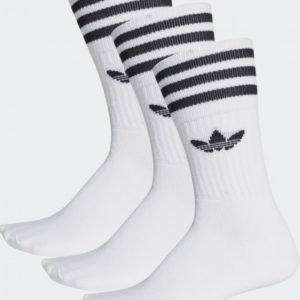 Adidas Originals Mid Cut Crw Sck Sukat Valkoinen