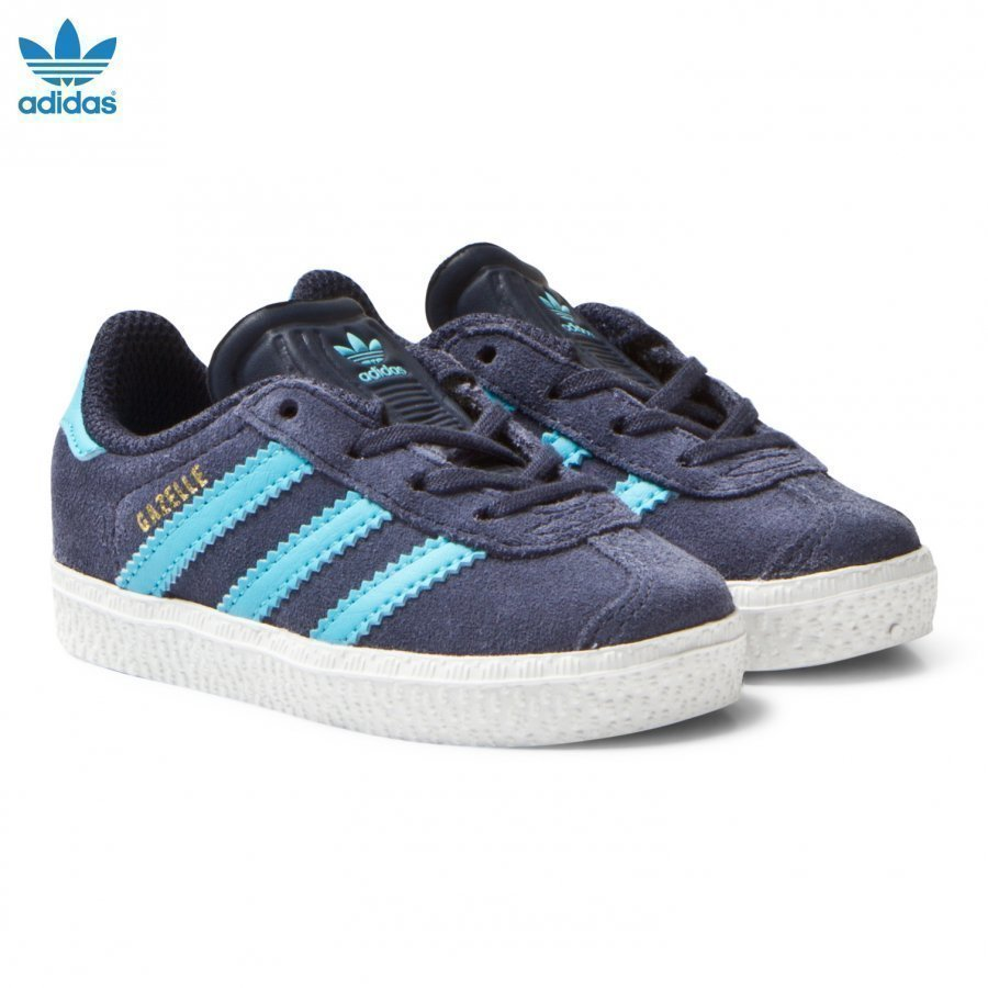Adidas Originals Midnight Grey Infants Gazelle Trainers Lenkkarit