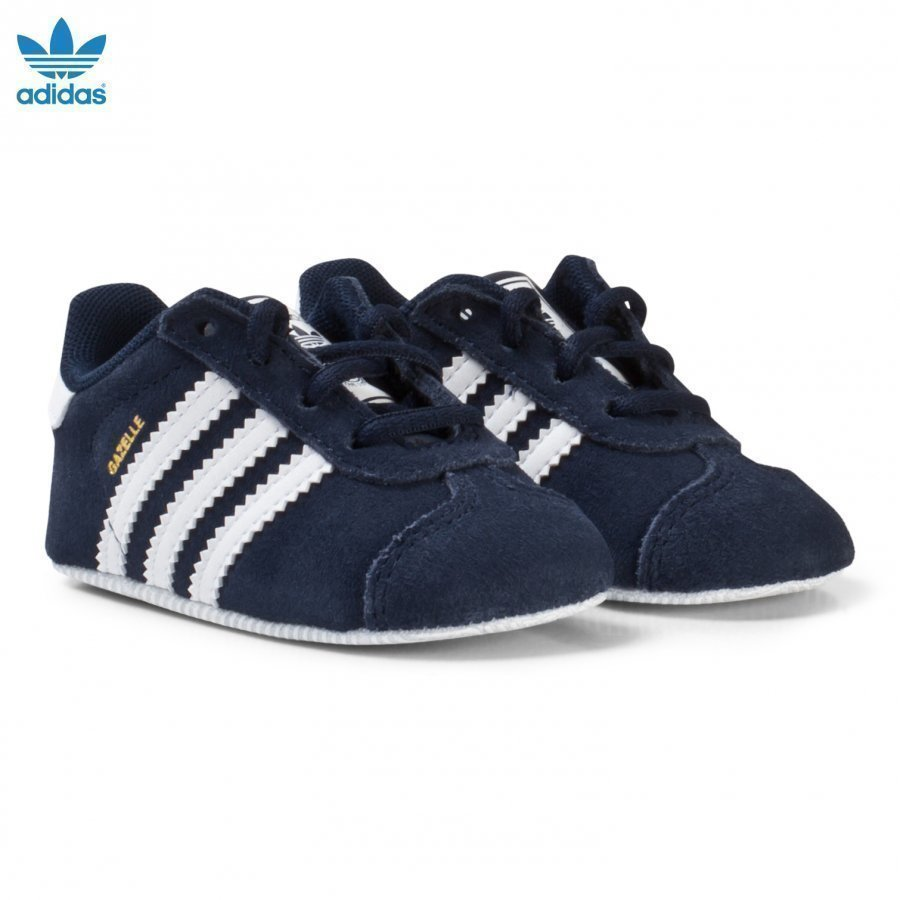 Adidas Originals Navy Gazelle Crib Shoes Vauvan Kengät