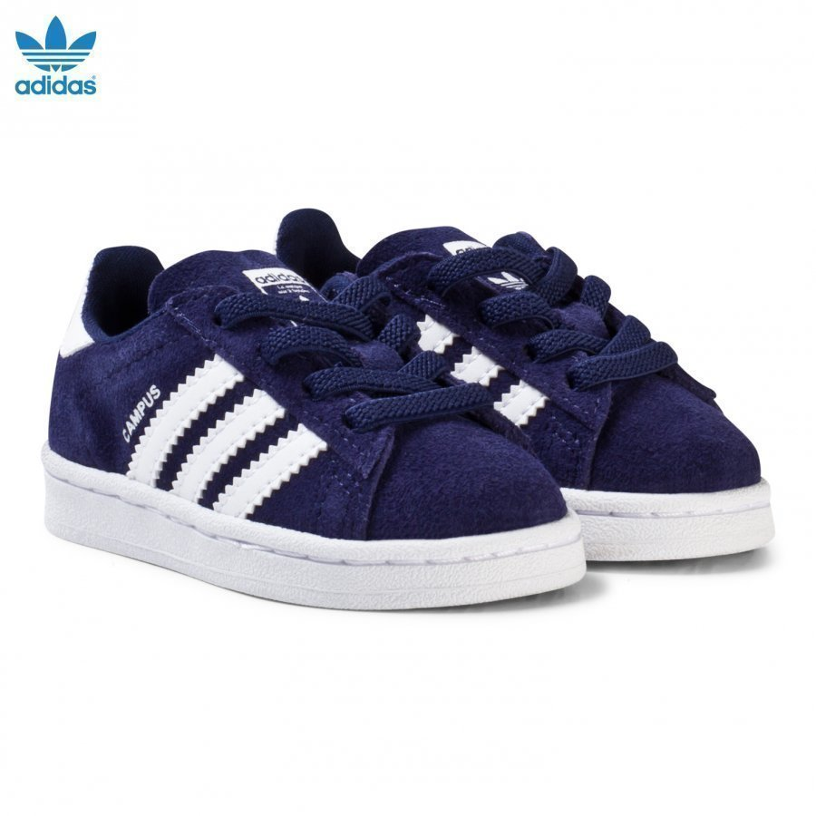 Adidas Originals Navy Infants Campus Trainers Lenkkarit