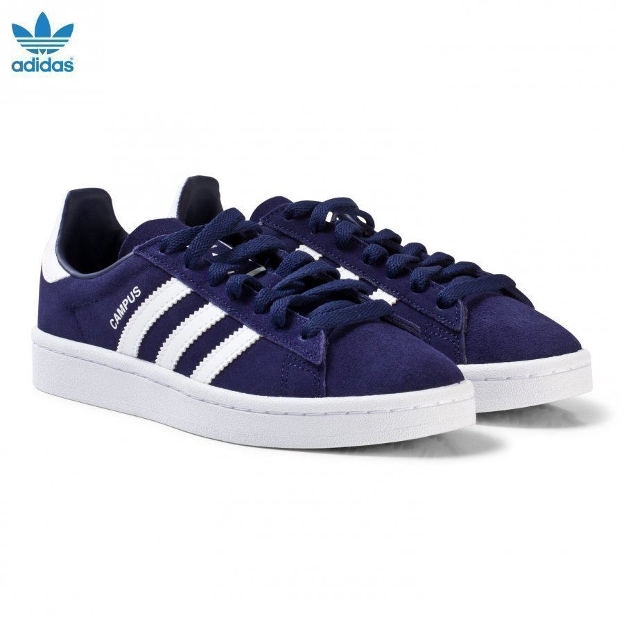 Adidas Originals Navy Junior Campus Trainers Lenkkarit