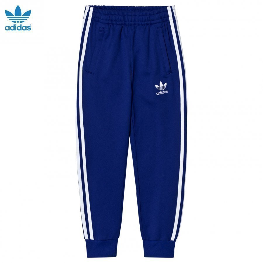 Adidas Originals Navy Junior Track Pants Verryttelyhousut