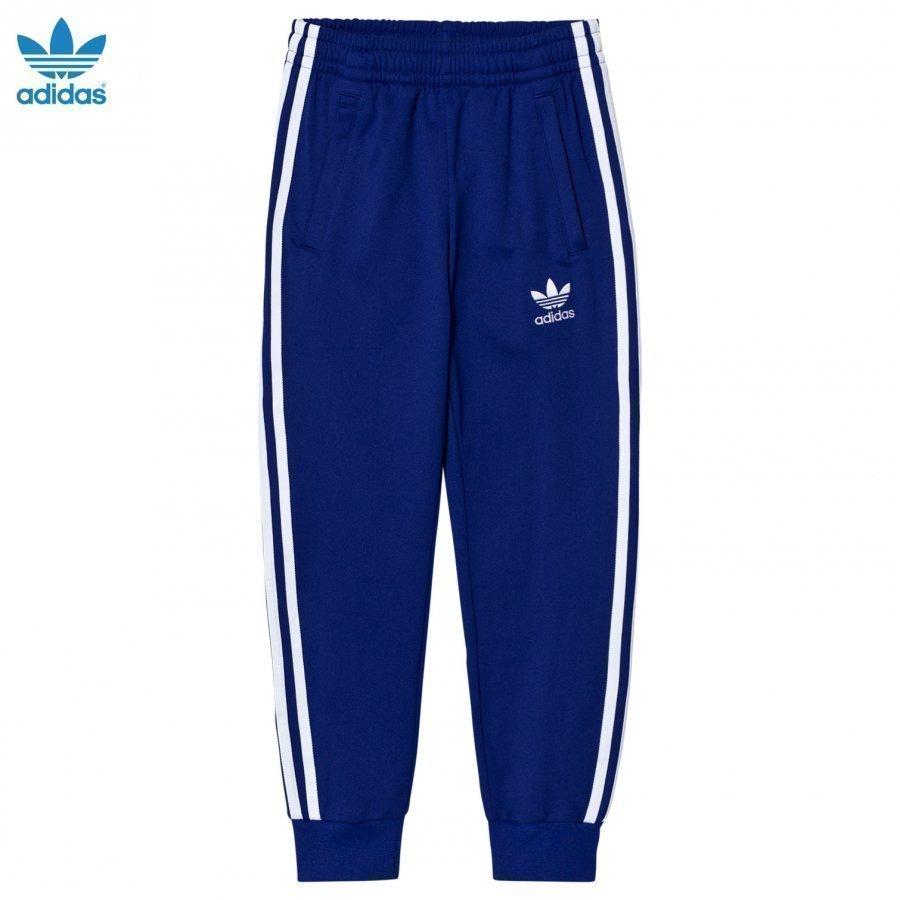 Adidas Originals Navy Junior Track Pants Verryttelyhousut