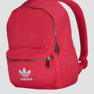 Adidas Originals Nylon Bp Laukku Vaaleanpunainen
