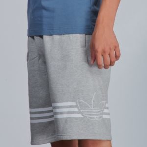 Adidas Originals Outline Shorts Shortsit Harmaa
