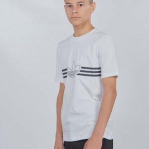 Adidas Originals Outline Tee T-Paita Valkoinen