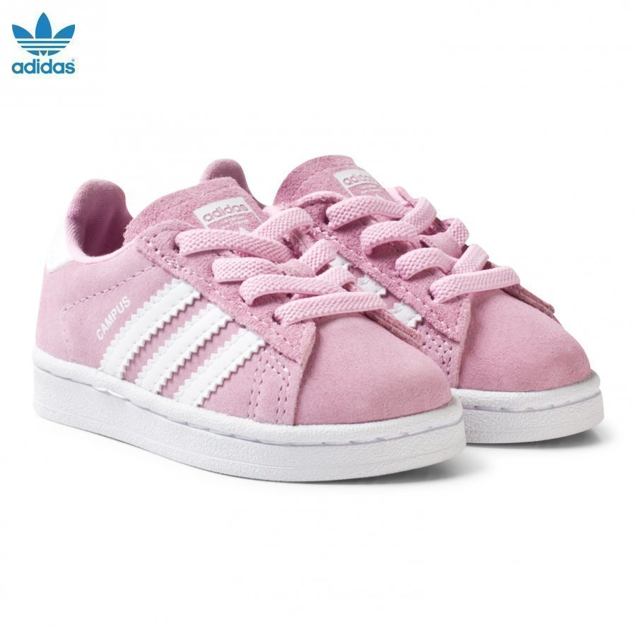 Adidas Originals Pink Infant Campus Trainers Lenkkarit