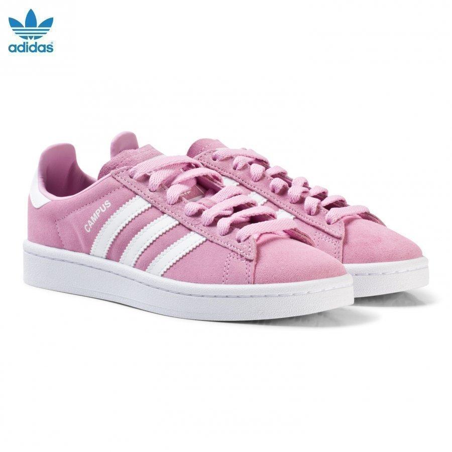 Adidas Originals Pink Junior Campus Sneakers Lenkkarit