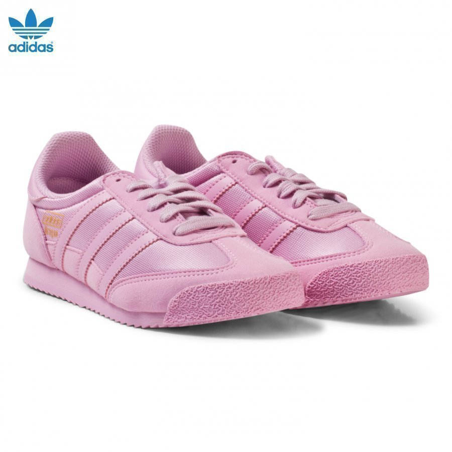 Adidas Originals Pink Junior Dragon Trainers Lenkkarit