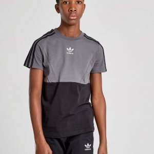 Adidas Originals Speed Colour Block T-Shirt Musta