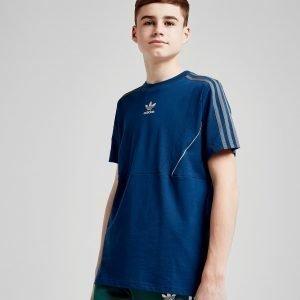 Adidas Originals Speed Colour Block T-Shirt Sininen