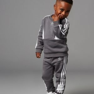 Adidas Originals Speed Crew Tracksuit Infant Harmaa