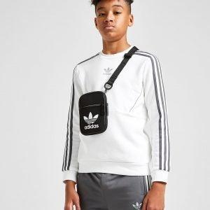 Adidas Originals Speed Fleece Crew Sweatshirt Valkoinen
