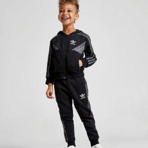 Adidas Originals Speed Fleece Full Zip Suit Musta